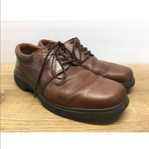Ecco Women's Brown Comfort Shoes Size 37 -AD13